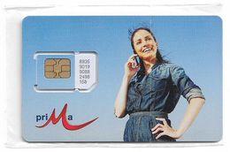 Bulgaria - M-Tel - Prima Series - Lady On Phone GSM SIM 2 Mini, NSB - Bulgaria