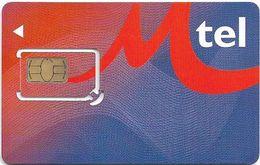 Bulgaria - M-Tel - Red-Blue GSM SIM 2 Mini, Mint - Bulgaria