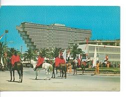 TUNISIE / TUNIS L' Hotel De Ville / CPM Timbre Non Oblitéré / Pliure Légère - Tunisie