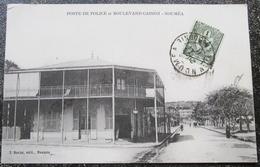 Caledonie Nouvelle Poste Police Et Boulevard Cassini Noumea Cpa Timbrée - New Caledonia