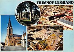 FRESNOY LE GRAND : 4 Vues - Tres Bon Etat - Andere Gemeenten