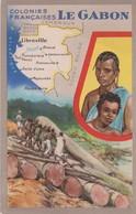 CARTE - Gabon