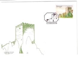 Portugal, 1988, # 1827, FDC Castelos E Brasões De Portugal - FDC