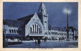 Metz Gare Effet De Nuit - Metz