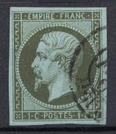TRES JOLI TIMBRE NAPOLEON N° 11 OBLITÉRATION LÉGÈRE / TIMBRE SANS DÉFAUT Avec 4 BELLES MARGES RÉGULIÈRES - 1853-1860 Napoléon III