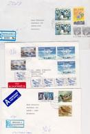 6 R- Envelope Iceland Sent To BULGARIA - 1944-... Republique