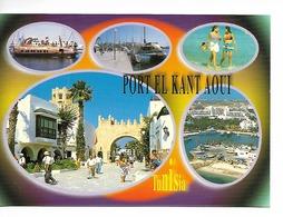 TUNISIE : PORT EL KANT AOUI / CPM Editions Mirage Multivuies - 5 -  écrite Non Datée / TBE  RARE - Tunisie