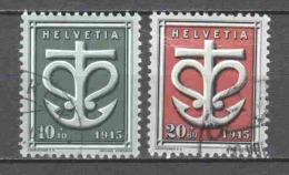 Switzerland 1945 Mi 443-444 Canceled - Gebraucht