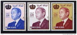MAROC - 1061/1063** - S.M. LE ROI HASSAN II - Morocco (1956-...)