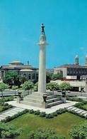 CARTE POSTALE ORIGINALE DE 9CM/14CM : NEW ORLEANS LEE CIRCLE PUBLIC LIBRARY AND SHRINERS TEMPLE LOUISIANA USA - New Orleans