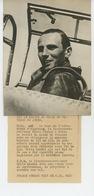 PHOTOS ORIGINALES -1939 - FRITZ WENDEL Recordman Du Monde De Vitesse En Avion, Promu Par GOERING -Cliché FRANCE PRESS - Aviation