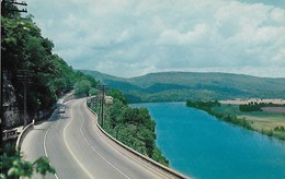 CARTE POSTALE ORIGINALE DE 9CM/14CM : HIGHVAY UP LOOKOUT MOUNTAIN CHATTANOOGA TENNESSEE USA - Chattanooga