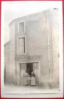 44 - Carte Photo - TRENTEMOULT - Cafe - Debitant - ECORCE - Devanture - Commerce - Magasin - Quai - France