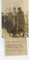 PHOTOS ORIGINALES -1938 -LA COUPE DE POLO DE PARIS SOIR A CANNES Avec Le Roi & La Reine Du DANEMARK -Cliché FRANCE PRESS - Lieux