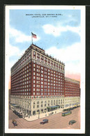CPA Louisville, KY, Brown Hotel And Brown Building - Louisville