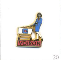 """Pin's Commerce - Ouverture Du Magasin """"Continent"""" à Voiron (38). Est. Arthus Bertrand. T608-20 - Food"""