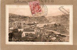 Carte Postale Ancienne. PONTREMOLI : Panorama Del Castello. - Andere Steden