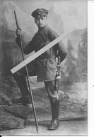 1915 Portrait D'un Chasseur De Montagne Allemand Alpen Jaeger Alpenkorps 1 Carte Photo Ww1 14-18 1914/1918 - War, Military