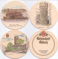 #D210-168 Drie Viltjes Reisdorf - Bierviltjes