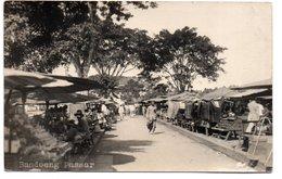INDONESIA-JAVA-BANDOENG-PASSAR-1927-REAL PHOTO-VIAGGIATA - Indonesia