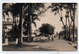 INDONESIA-JAVA-BANDOENG-TAMBOLNGWEG-1927-REAL PHOTO-VIAGGIATA - Indonesia