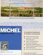 MICHEL Briefmarken Rundschau 6/2018 Neu 6€ Stamps Of The World Catalogue/magacine Of Germany ISBN 978-3-95402-600-5 - Tedesco
