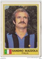 PANINI EURO FOOTBALL 1977 SANDRO MAZZOLA INTER MILAN  ITALIA - French Edition