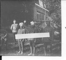 Armée Britannique Photo D'un Groupe De Cavaliers Indiens Et Soldats Anglais 1 Photo Ww1 14-18 1914/1918 - War, Military