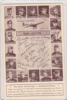 Die Ersten Militärflieger - Mobilisation 1914 - Gelaufen Erst 1946         (P-151-61117) - Aviateurs