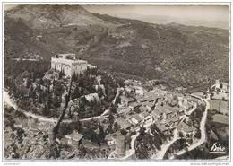 CPSM CASTELNOU - Fortifications Et Château - Vue Générale Et Massif De L'Aspre - Ed. Goudin N°38 - Zonder Classificatie