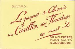 "Buvard "" Chicorée CARILLON DES FLANDRES""1 - Food"