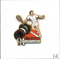 Pin's Sport - Tennis / Roland Garros 1991 - Sponsor Canon. Est. Arthus Bertrand. T609-14 - Tennis