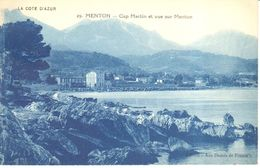 (06) Alpes Maritime - CPA - Menton - Cap Martin Et Vue Sur Menton - Menton