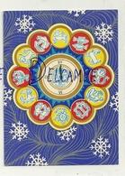 Carte De Voeux. Les Signes Du Zodiaque. 1976. Dail. L. Bekintyte - Astrologie