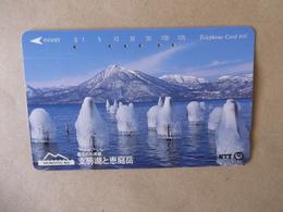 Japan - Telefonkarte Gebraucht - 431  - 075   - Rückseite  Große Nummer - Mit  Jahreszahl - Hell Grau - Japan
