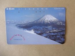 Japan - Telefonkarte Gebraucht - 431  - 045   - Rückseite  Große Nummer - Mit  Jahreszahl - Hell Grau - Japan