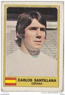 PANINI EURO FOOTBALL 1977 CARLOS SANTILLANA REAL MADRID ESPAGNE - French Edition