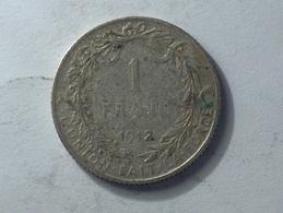 BELGIQUE 1 FRANC 1912 ARGENT SILVER - 07. 1 Franc