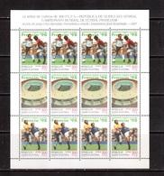 Guinea Equ.-1997,(Mi.1857-1859), Sheet, Football, Soccer, Fussball,calcio,MNH - Coupe Du Monde