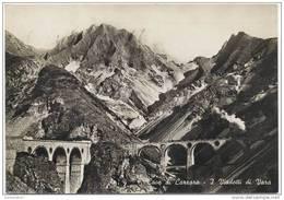 CPSM CAVE DI CARRARA - I Viadotti Di Vara - Viaduc - Train - Carrara