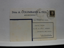 ARZACHENA   ----   SASSARI  --- DITTA   A. COLUMBANO & FIGLI - Sassari
