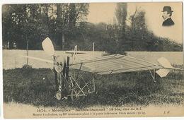 """Monoplan """" Santos Dumont """" 19 Bis Vu De 3/4 Moteur Antoinette Photo Santos Dumont Edit J. Hauser - Brésil"""