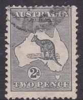 Australia SG 3 1913 Kangaroo 2d Grey, Used - 1913-48 Kangaroos