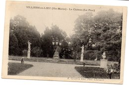 Tarjeta Postal De Villiers-en-lieu. Le Chateau. - Francia