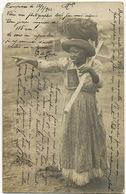 Real Photo 1905 Campinas Une Jeune Negresse De 115 Ans . Centenaire Ambulante To Bon Coin Nancy Venelling - Brésil