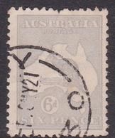 Australia SG 9 1913 Kangaroo 6d Ultramarine, Used - Used Stamps