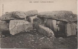 CARNAC  LE DOLMEN DE KERIAVAL  EN 1907 - Carnac