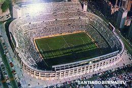 POSTAL ESTADIO - STADIUM POSTCARD - MADRID - SANTIAGO BERNABEU - WORLD CUP 1982 - Fútbol