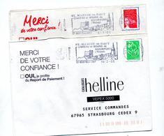 Lettre Flamme  Saint Martin Du Haut Chateau - Maschinenstempel (Werbestempel)