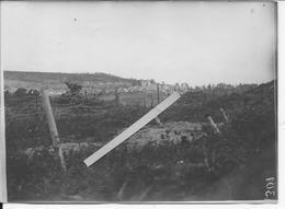 1917 Aisne Chemin Des Dames Craonne Vue Du Village Détruit Et Des Lignes 1 Photo Ww1 14-18 1914-1918 - War, Military